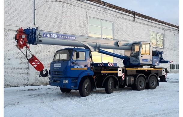 Автокран Ивановец 32т / 30,2 м